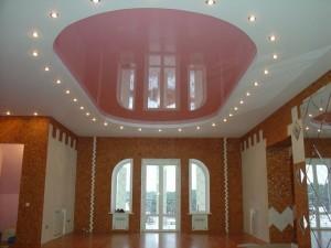 Успешно проведенный ремонт потолка