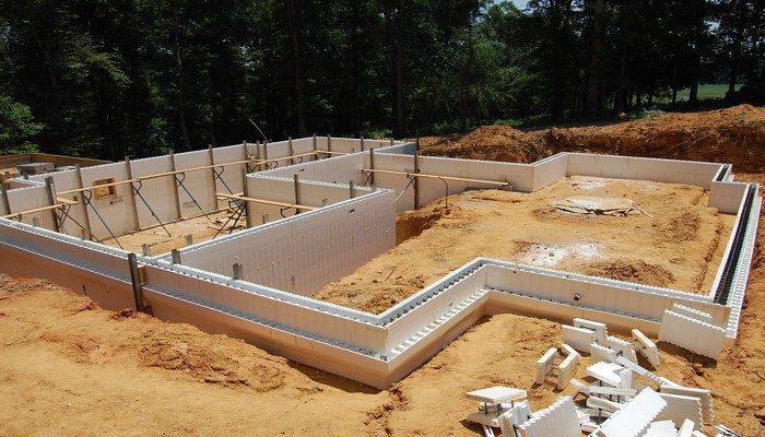 Вариант несъемной опалубки для строительства