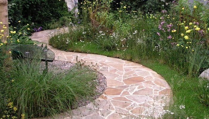 Вариант садовых дорожек