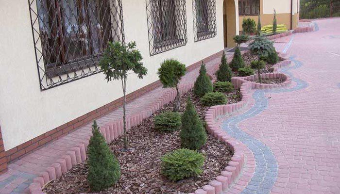 Готовые садовые дорожки