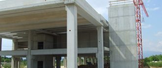 Пример готовых монолитных конструкций