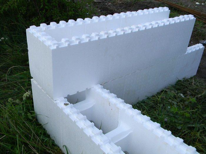 Блоки из пенопласта для опалубки