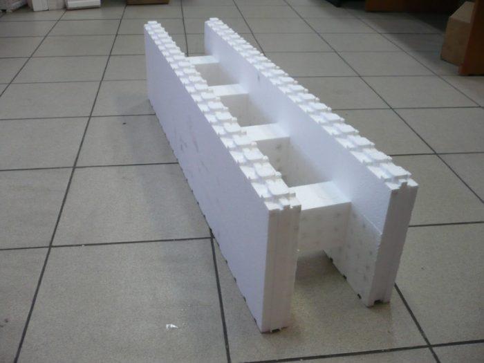 Пример одного блока опалубки