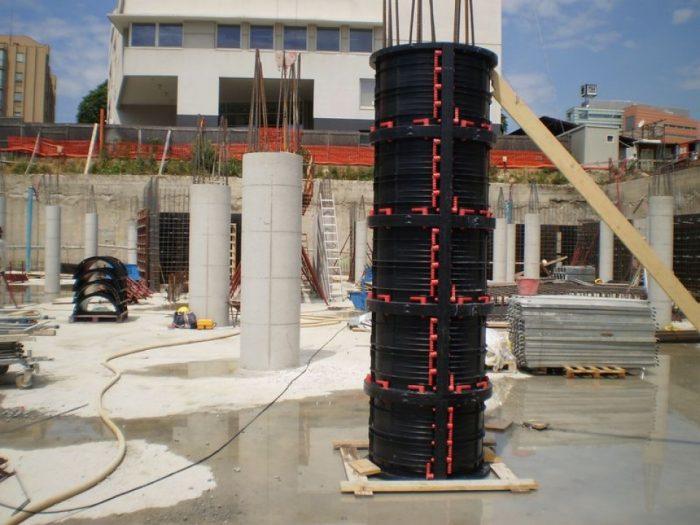 Опалубка для круглых колонн