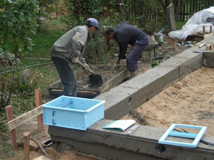 Использование опалубки в строительстве