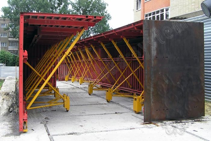 Элементы туннельной опалубки