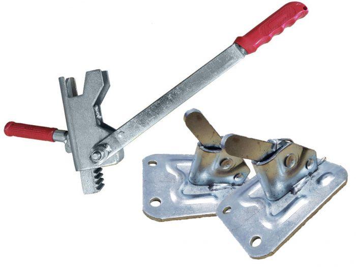 Зажимы для опалубки и ключ